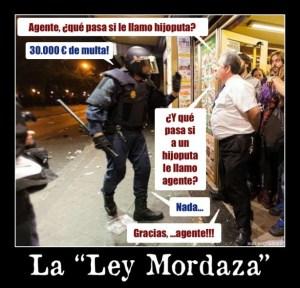 La Ley Mordaza