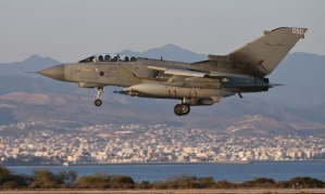 Royal Air Force flying to conflict zone